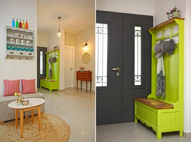 הרהיט שנמצא מחוץ לבית הפך לאלמנט עיצובי יפהפה
