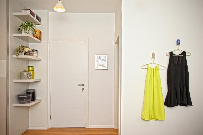 בגדיה של הלקוחה חובבת האופנה מהווים אלמנט עיצובי