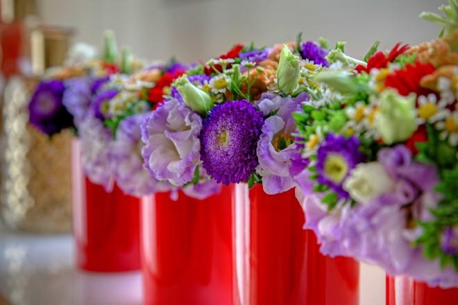 פרחים תמיד מוסיפים לאווירה