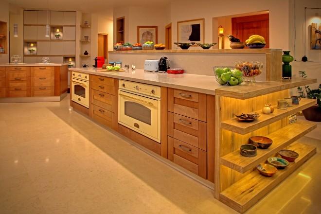 המטבח הורחב באופן משמעותי