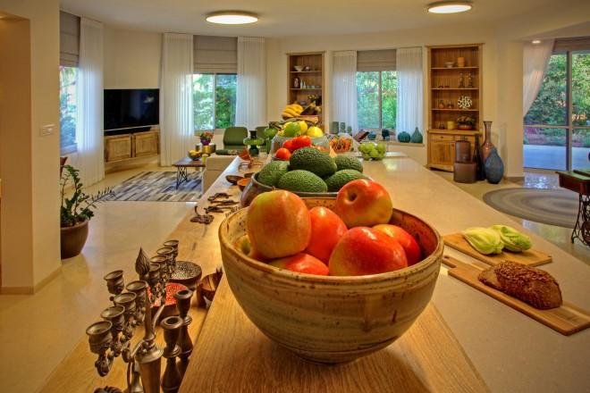 אורח החיים הבריא מצא ביטויי בעיצוב הבית