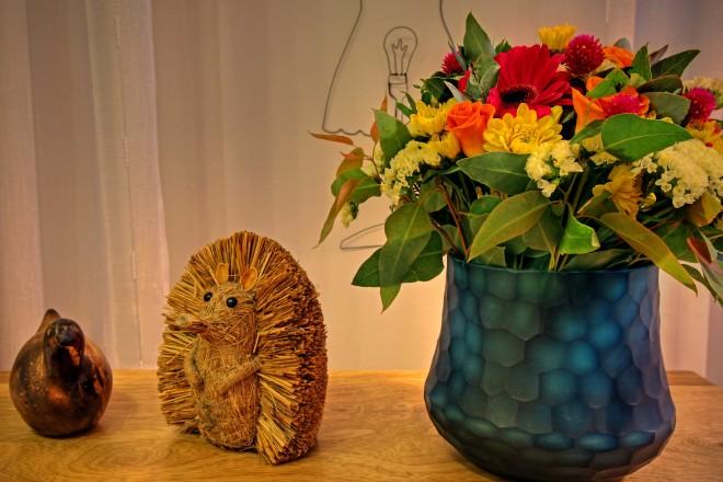 פרחים מוסיפים לאווירה