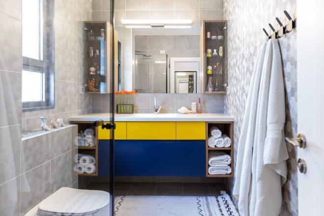 חדר האמבטיה המקורי הוגדל והפך לגולת הכותרת של החדר